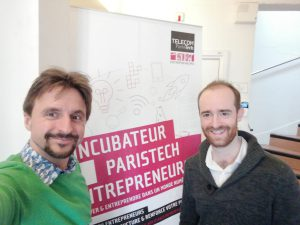co-founders of opscidia Sylvain and Charles